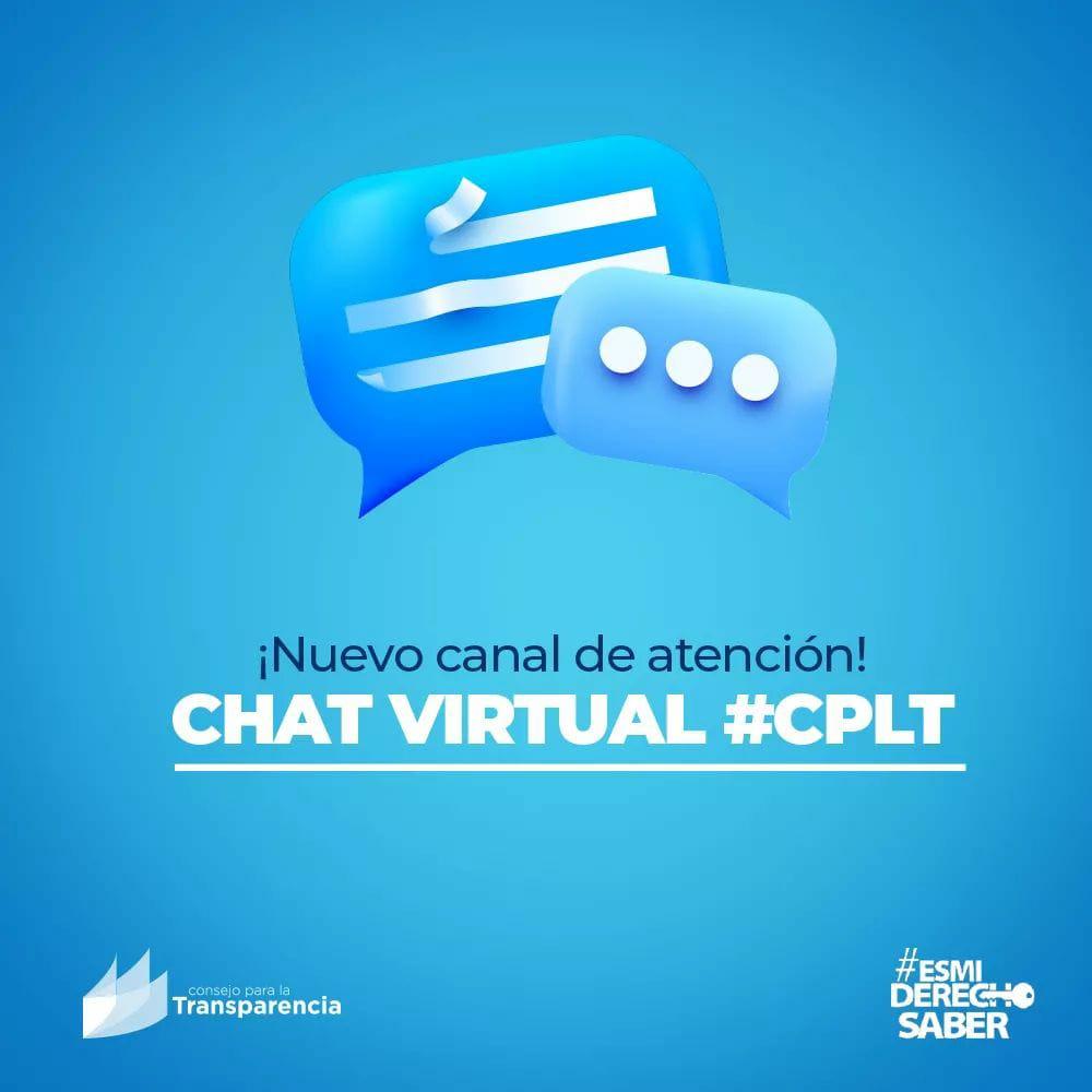 Consejo para la Transparencia refuerza su atención ciudadana con nuevo chat virtual